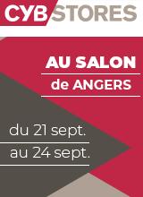 CybStores au salon Habitat Immobilier Décoration de Angers du 21 au 24 septembre 2018